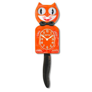 Urban Outfitters Autumn Delight Kit-Cat Clock